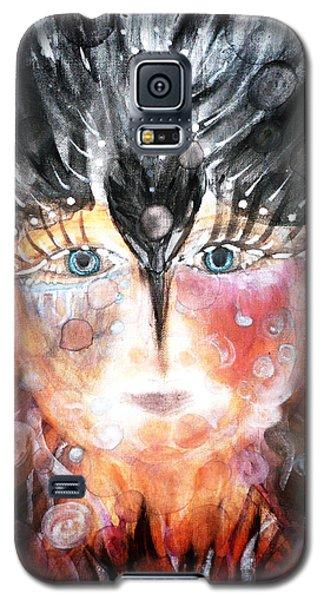 Crow Child Galaxy S5 Case