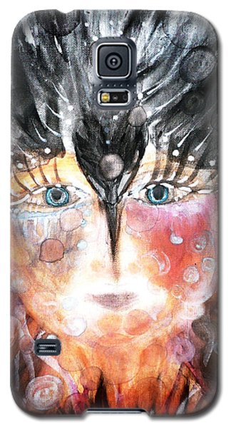 Crow Child Galaxy S5 Case