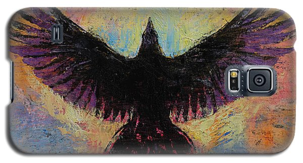Crow Galaxy S5 Case by Michael Creese