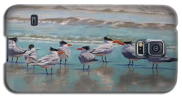 Crowd Control Galaxy S5 Case by Pam Talley