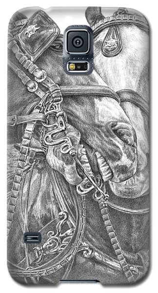 Crowd Pleasers - Clydesdale Draft Horse Art Print Galaxy S5 Case