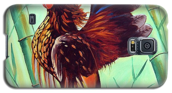 Crown Of The Serama Chicken Galaxy S5 Case by Ragunath Venkatraman