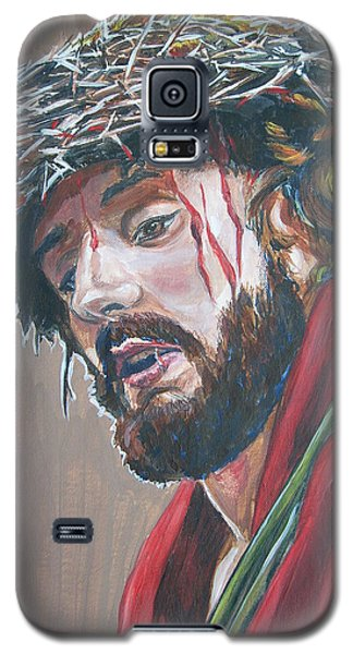 Galaxy S5 Case featuring the painting Crown Of Thorns by Bryan Bustard