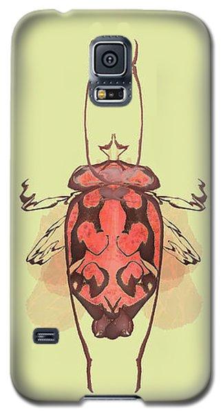 Crowned Horn Bug Specimen Galaxy S5 Case