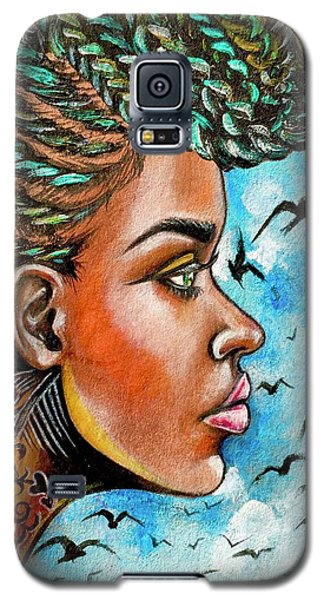 Galaxy S5 Case - Crowned Royal by Artist RiA