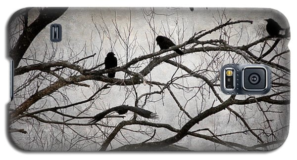 Crows At Midnight Galaxy S5 Case by Angie Rea