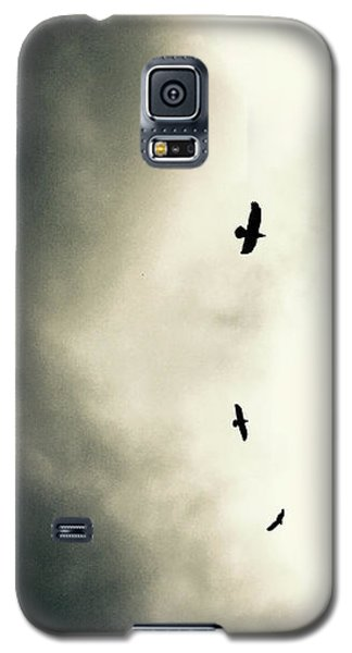 Crows On Christmas Eve 1 Galaxy S5 Case