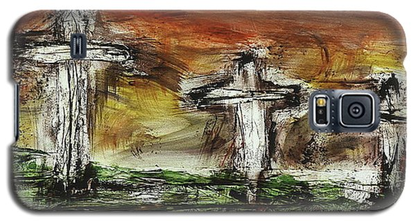 Crucifixion #2 Galaxy S5 Case