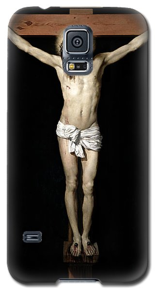 Galaxy S5 Case featuring the digital art Crucifixion by Diego Velazquez