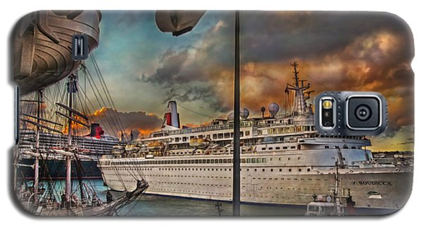 Galaxy S5 Case featuring the photograph Cruise Port by Hanny Heim
