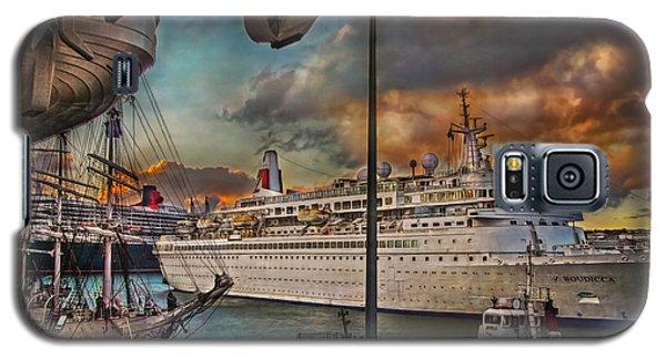 Cruise Port Galaxy S5 Case