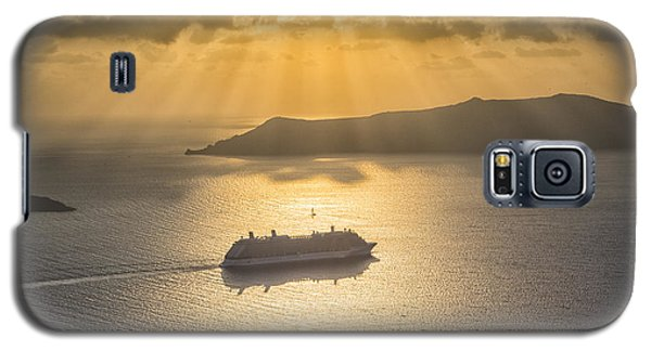 Cruise Ship In Greece Galaxy S5 Case
