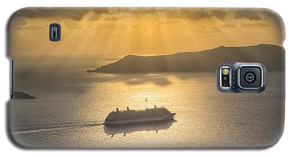 Cruise Ship In Greece Galaxy S5 Case