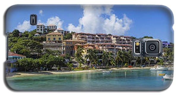 Galaxy S5 Case featuring the photograph Cruz Bay, St. John by Adam Romanowicz