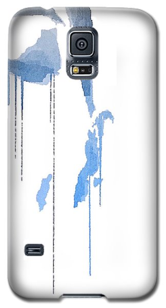 Galaxy S5 Case featuring the digital art Crying In Pain by ISAW Company