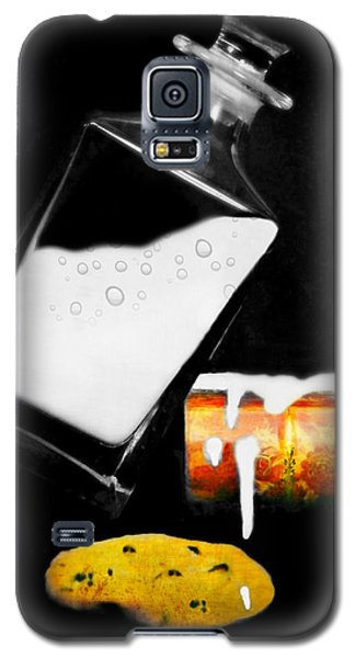 Galaxy S5 Case featuring the photograph Crying Over Spilled Milk by Diana Angstadt