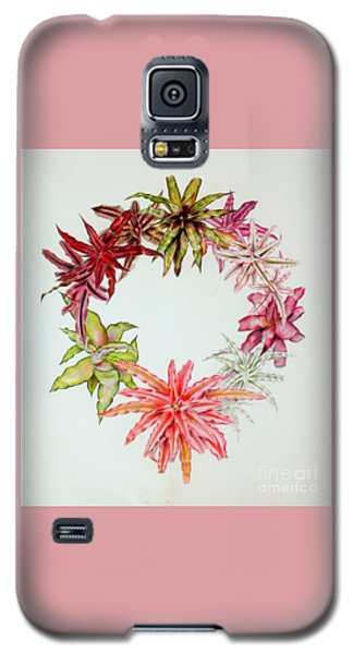 Cryptanthus Wreath Galaxy S5 Case