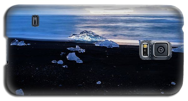 Galaxy S5 Case featuring the photograph Crystal Beach Iceland by Brad Scott