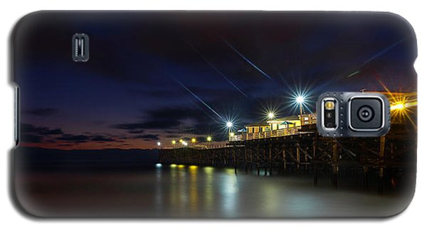 Crystal Beach Pier Blue Hour  Galaxy S5 Case