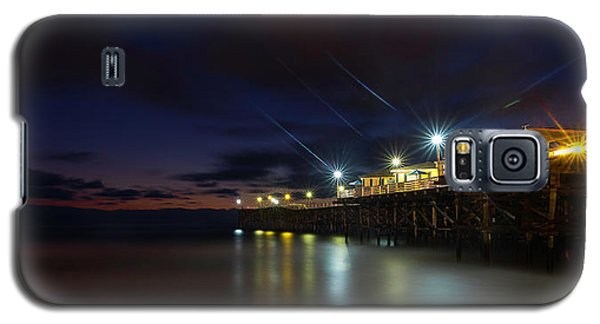Crystal Beach Pier Blue Hour  Galaxy S5 Case