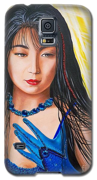 Crystal Blue China Girl            From   The Attitude Girls  Galaxy S5 Case