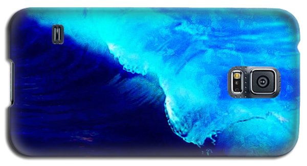 Crystal Blue Wave Painting Galaxy S5 Case