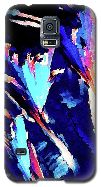 Galaxy S5 Case featuring the digital art Crystal C Abstract by ABeautifulSky Photography