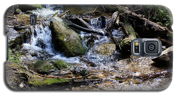 Galaxy S5 Case featuring the photograph Crystal Clear Creek by Ben Upham III