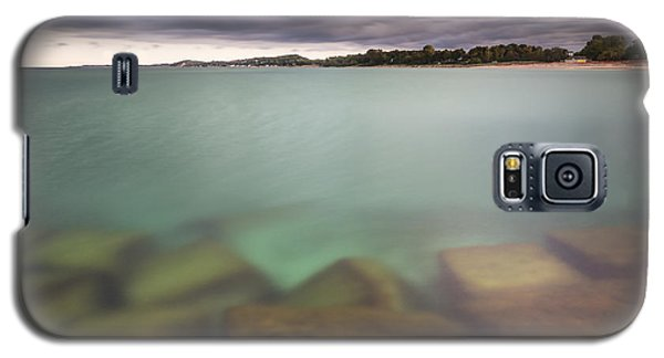 Galaxy S5 Case featuring the photograph Crystal Clear Lake Michigan Waters by Adam Romanowicz