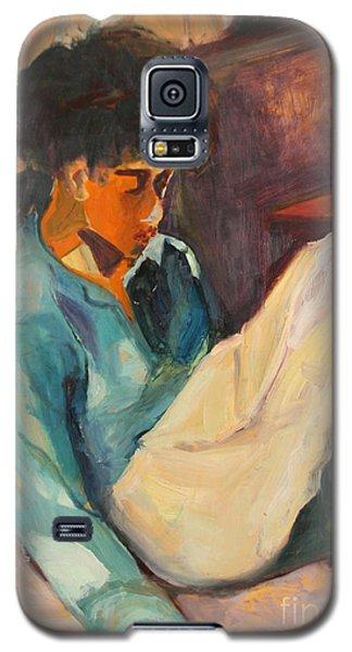 Crystal Galaxy S5 Case by Daun Soden-Greene