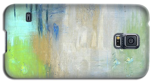 Galaxy S5 Case featuring the painting Crystal Deep  by Michal Mitak Mahgerefteh