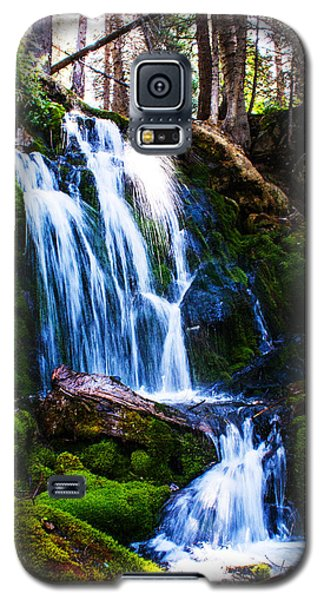 Crystal Fall Galaxy S5 Case by Jerry Cahill
