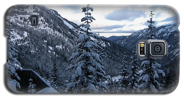 Crystal Mountain Dawn Galaxy S5 Case