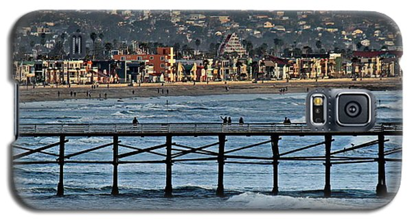 Crystal Pier - Mission Beach - Big Dipper Galaxy S5 Case