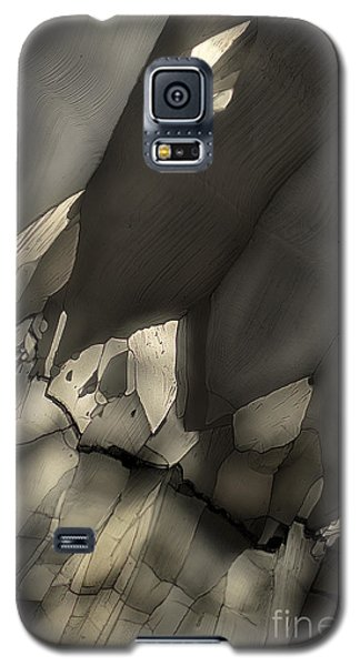 Galaxy S5 Case featuring the photograph Falling Crystals by Olimpia - Hinamatsuri Barbu