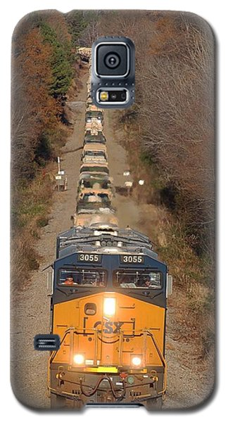 Csx Military Train Galaxy S5 Case