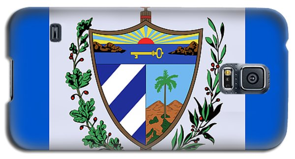 Cuba Coat Of Arms Galaxy S5 Case by Movie Poster Prints