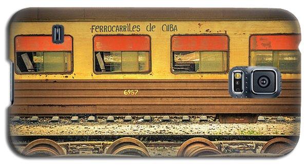 Cuban Train Galaxy S5 Case