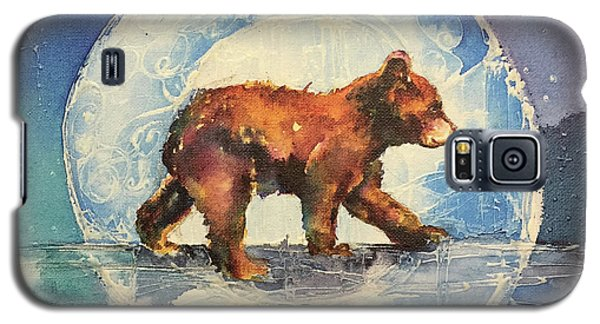 Galaxy S5 Case featuring the painting Cubbie Bear by Christy Freeman