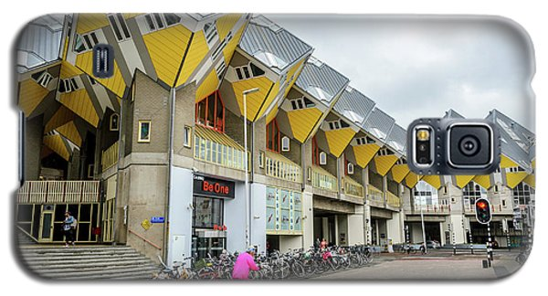 Galaxy S5 Case featuring the photograph Cube Houses In Rotterdam by RicardMN Photography