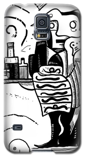 Cubist Waiter Galaxy S5 Case