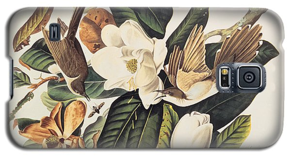 Cuckoo On Magnolia Grandiflora Galaxy S5 Case by John James Audubon