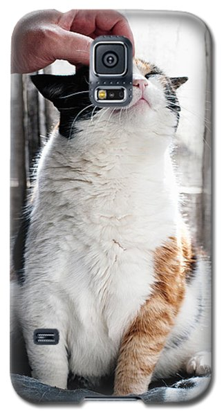 Galaxy S5 Case featuring the photograph Cuddles by Laura Melis