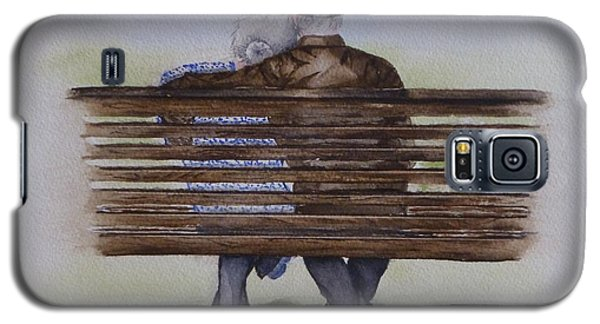 Cuddling Is Ageless Galaxy S5 Case