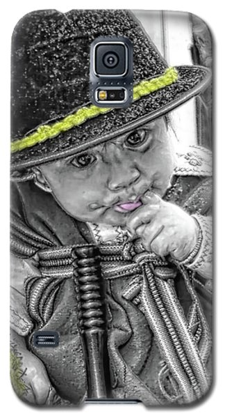 Galaxy S5 Case featuring the photograph Cuenca Kids 888 by Al Bourassa