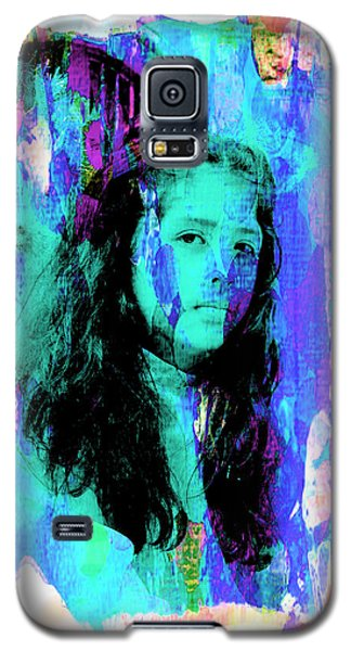 Galaxy S5 Case featuring the photograph Cuenca Kids 892 by Al Bourassa
