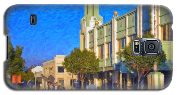 Culver City Plaza Theaters   Galaxy S5 Case by David Zanzinger