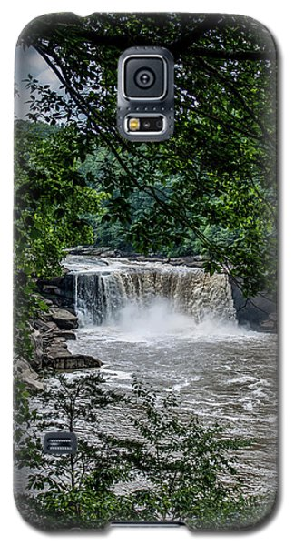 Galaxy S5 Case featuring the photograph Cumberland Falls by Joann Copeland-Paul