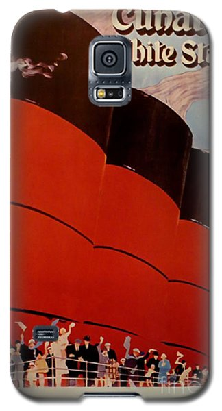 Cunard-white Star Ocean Liner Poster Galaxy S5 Case
