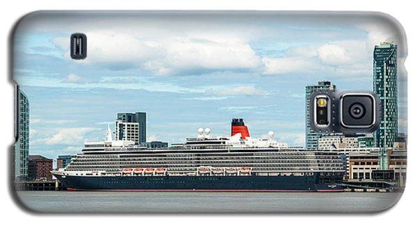Cunard's Queen Elizabeth At Liverpool Galaxy S5 Case